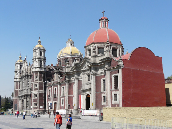 Old Basilica (L) and Capuchin Church (R)