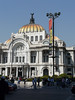 Bellas Artes (Beautiful Arts) Zocalo, Mexico City