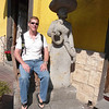 Hangin' with the locals! Tlaquepaque, Mexico